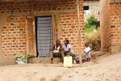 乌干达家庭 库存照片