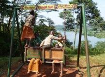 从乌干达的场面 免版税库存图片