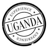 乌干达邮票橡胶难看的东西 免版税库存照片