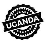 乌干达邮票橡胶难看的东西 库存图片