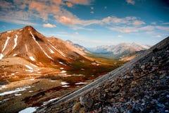 乌拉尔风景 ural的山 俄罗斯风景 免版税库存照片