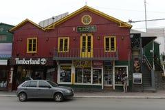 乌斯怀亚是最南端的城市在世界上 库存图片