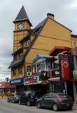 乌斯怀亚是最南端的城市在世界上 库存照片