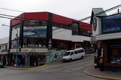 乌斯怀亚是最南端的城市在世界上 免版税库存图片