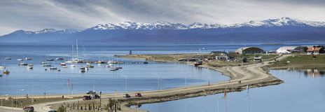 乌斯怀亚,阿根廷。 免版税库存照片