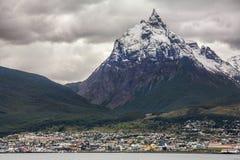 乌斯怀亚-巴塔哥尼亚-阿根廷 免版税库存图片