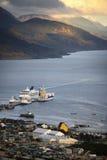 乌斯怀亚-火地岛-巴塔哥尼亚-阿根廷 免版税库存照片