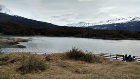 乌斯怀亚- Parque Nacional 库存照片