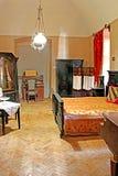乌日霍罗德城堡,乌克兰内部  库存照片