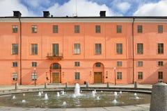 乌普萨拉城堡在乌普萨拉,瑞典 库存图片