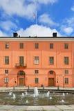 乌普萨拉城堡在瑞典 免版税图库摄影