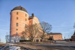 乌普萨拉城堡堡垒 免版税库存图片