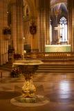 乌普萨拉大教堂在瑞典 免版税图库摄影