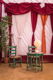 乌特雷纳市场塞维利亚装饰的 图库摄影