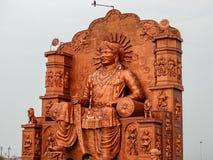 乌贾因市,印度 免版税库存图片