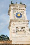 乌迪内的历史中心的细节 库存图片