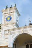 乌迪内的历史中心的细节 图库摄影