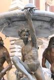 乌龟喷泉在罗马 库存图片