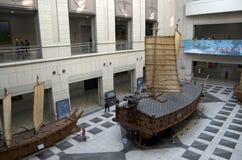 乌龟船战争纪念建筑韩国 库存照片