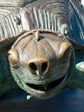 乌龟雕象 免版税库存图片