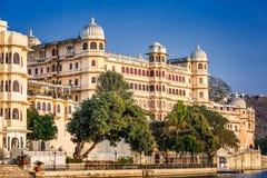 乌代浦城堡印度 库存图片
