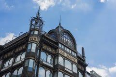 乐器博物馆在布鲁塞尔,比利时 免版税库存照片
