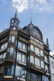 乐器博物馆在布鲁塞尔,比利时 免版税图库摄影
