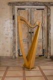 乐器竖琴 免版税库存照片