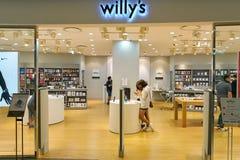 乐天百货的威廉的商店 库存图片