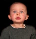 乐观的婴孩 免版税库存照片