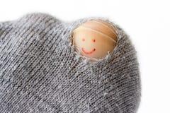 乐观袜子 库存图片