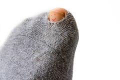 乐观袜子 免版税库存照片