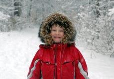 乐趣冬天 库存图片
