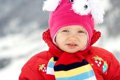 乐趣冬天 库存照片