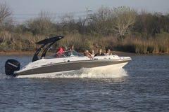 乐趣划船 库存图片