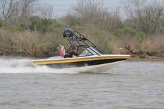 乐趣划船 免版税库存照片