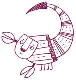 乐趣占星-天蝎座黄道带标志 库存图片