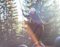 乐趣在冒险公园 图库摄影