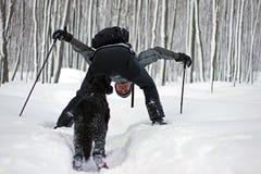 乐趣室外冬天 免版税库存图片