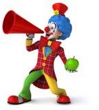 乐趣小丑 免版税图库摄影