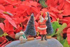 乐趣形象玩具圣诞老人项目形象 免版税库存图片