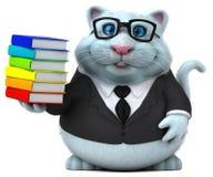 乐趣猫- 3D例证 皇族释放例证