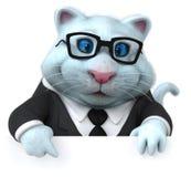 乐趣猫- 3D例证 向量例证
