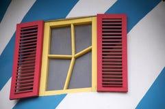 乐趣窗口摘要建筑学 图库摄影