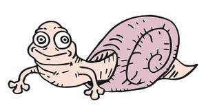 乐趣蜗牛 免版税库存图片