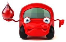 乐趣车的3D例证 库存照片