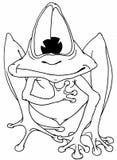 乐趣青蛙 免版税图库摄影