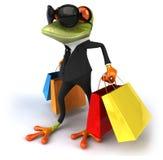 乐趣青蛙 向量例证