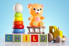 乐趣更多玩具 免版税库存图片