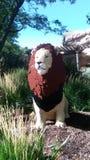 乐高狮子 免版税库存图片